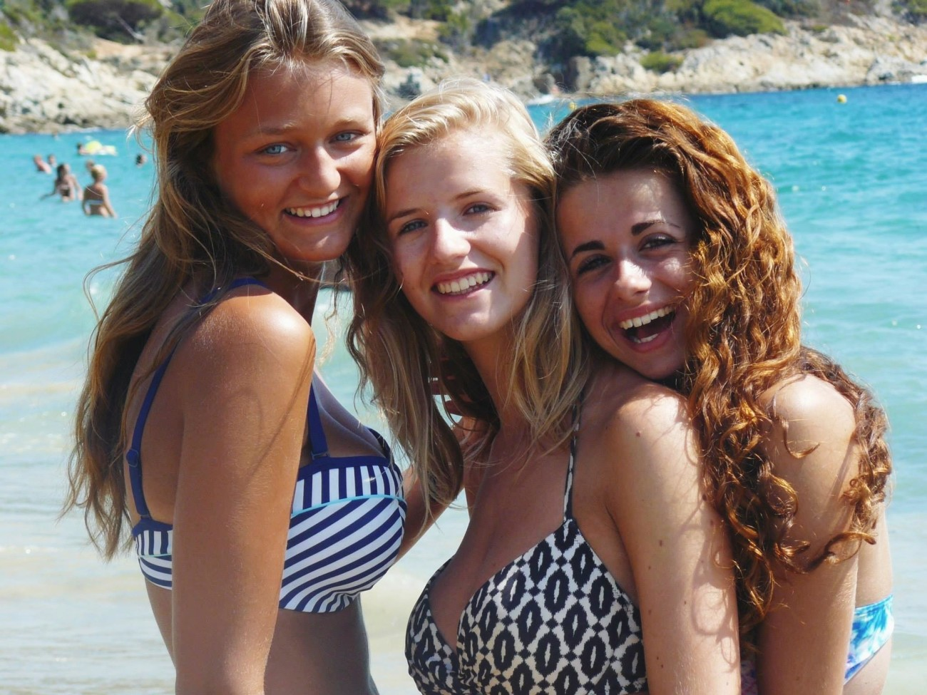Fledgling French Teenagers In..